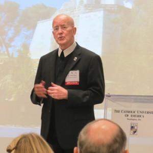 Brother Peter Bray, Photo courtesy Catholic University