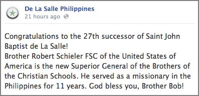 De La Salle Philippines Facebook