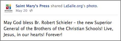 Saint Mary's Press Facebook