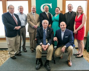 Jolleen Wagner (back row, third from right) with fellow honorees. Credit: Siena College