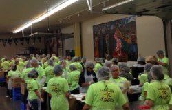 SFNO District Lasallian Youth Assembly at local food bank