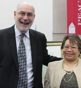 Richard Engler and Maria