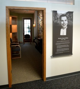 The Christian Brothers Services Prayer Room honors Brother James Miller, FSC. Courtesy Christian Brothers Services